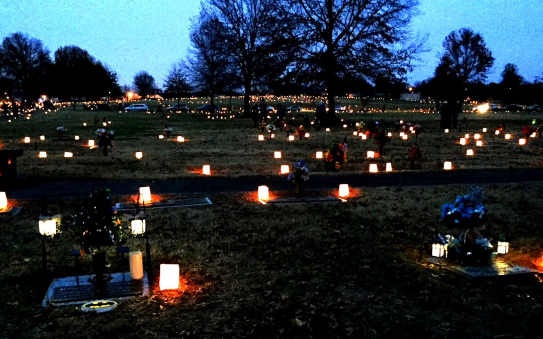 Lighting of the Luminaries at Hendersonville Memorial Gardens