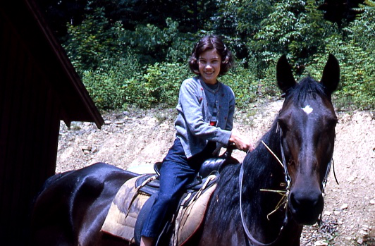 Trail riding in West Virginia